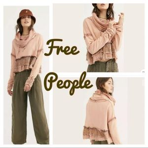 Free People | Playing In Plaid Sweatshirt